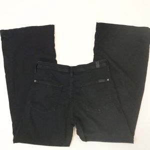 7 for all mankind the trouser pants black 27